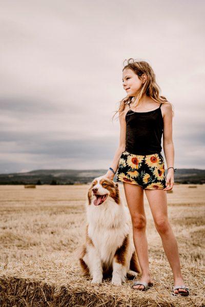Portrait ado chien photographe